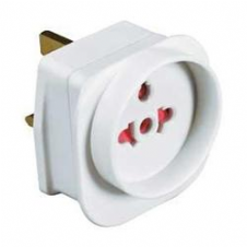 UK Tourist Travel Adaptor Convert European plug for visitors to the UK